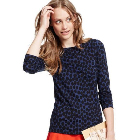 404721caa6a001 Boden Tops | Animal Print Boatneck T Shirt 34 Sleeve 080 | Poshmark